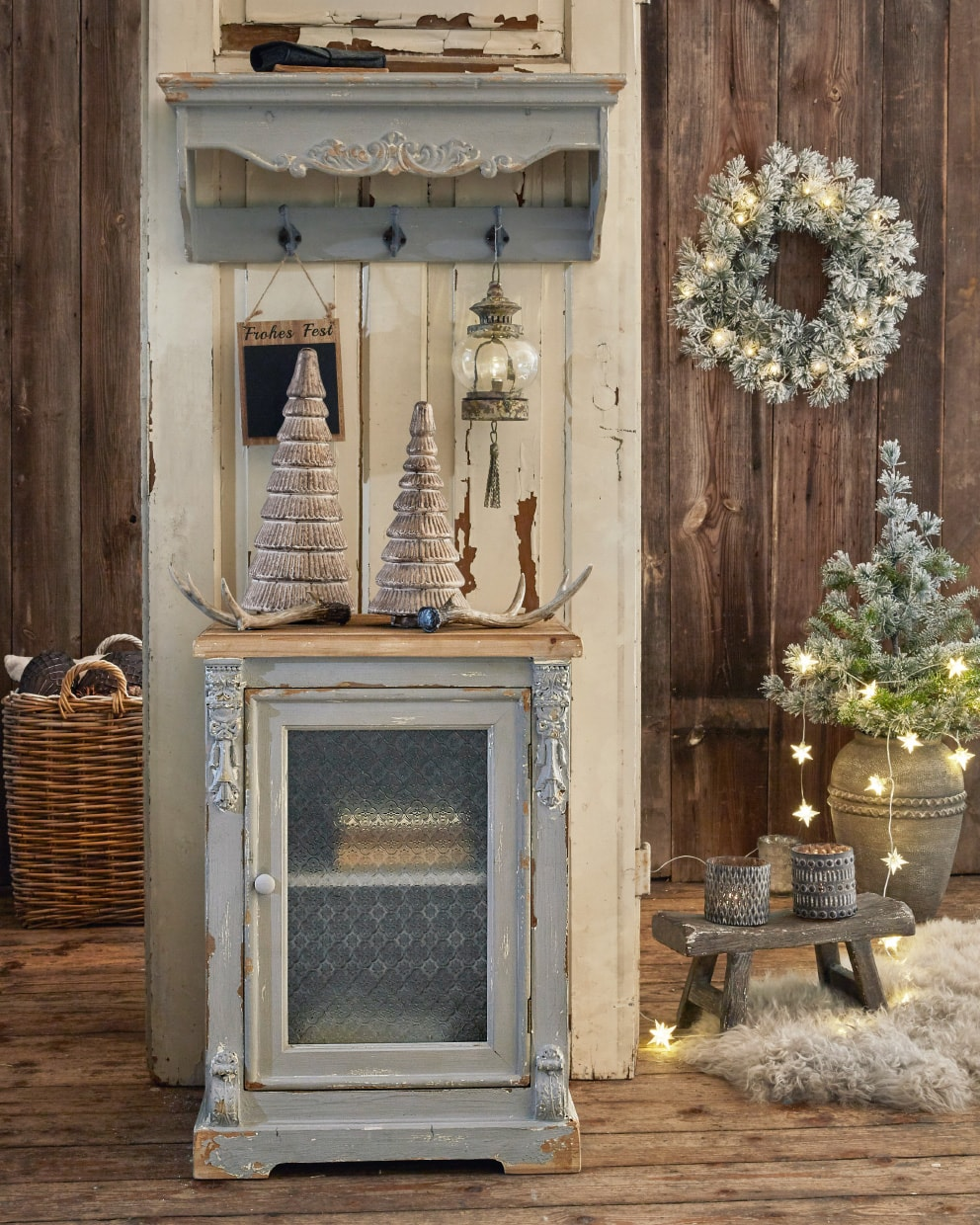 Winterlicher Shabby Chic