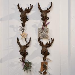 Haken 4er Set Deer