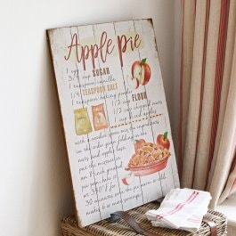Dekoboard Apple Pie bunt