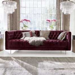 Sofa Whaley bordeaux