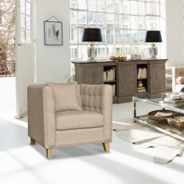 Sessel Young beige