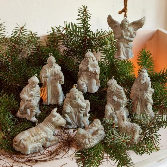 Krippenfiguren 10er-Set Holy Family