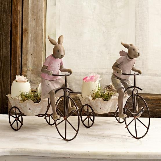 Hase 2er Set Racing Rabbits