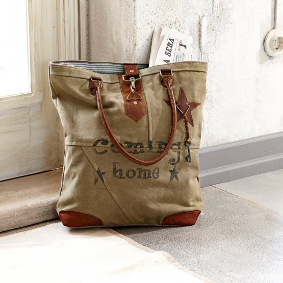 Tasche Coming home khaki