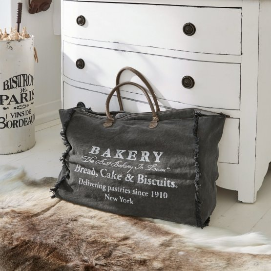 Tasche New York Bakery braun