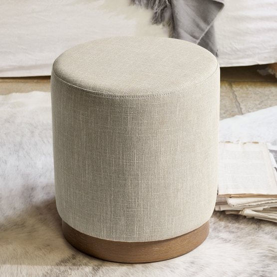 Hocker Everton beige