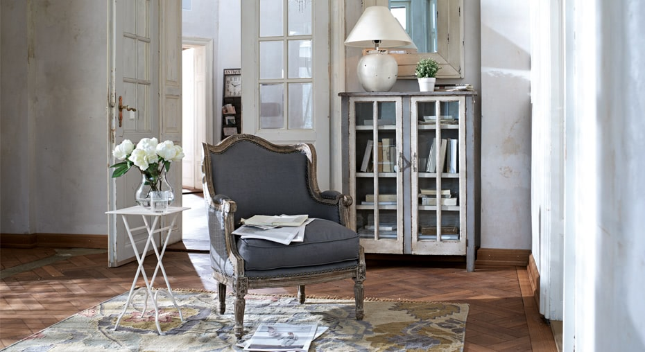 einrichtungsidee romantique loberon. Black Bedroom Furniture Sets. Home Design Ideas