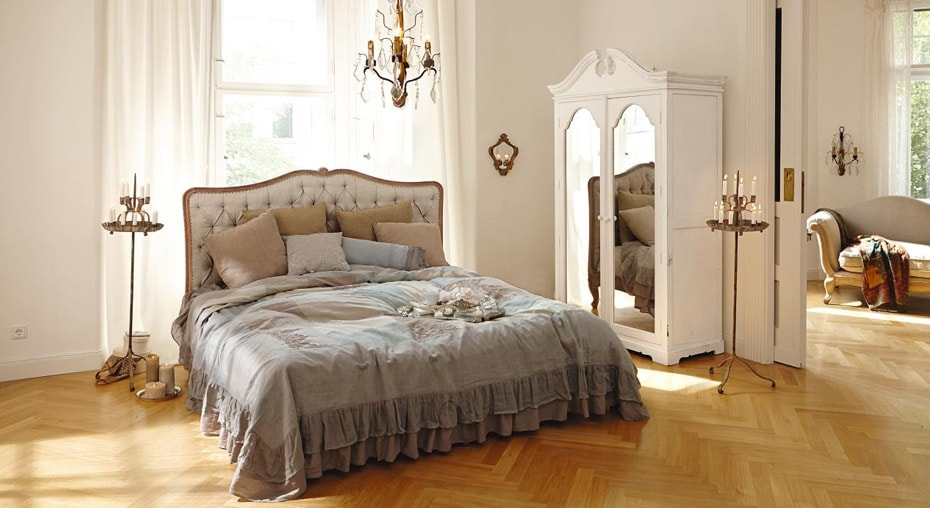 einrichtungsidee franz sischer schlafzimmer traum loberon. Black Bedroom Furniture Sets. Home Design Ideas